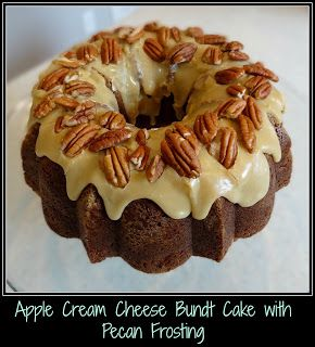 Southern Living Apple Cream Cheese Bundt Cake with Pecan Frosting