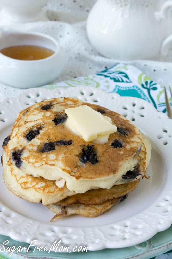 Gluten Free Wild Blueberry Buttermilk Pancakes - will have to use some ...