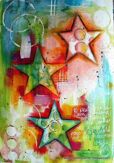 Art journal - 'stars'