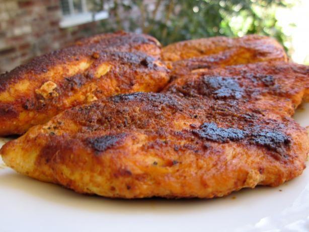Blackened Chicken Recipe - Food.com - 151097