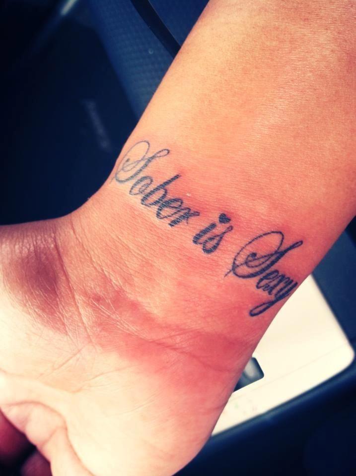 ... tattoos #sober #sobriety #soberlife #sobertattoo | Sobriety Fashion