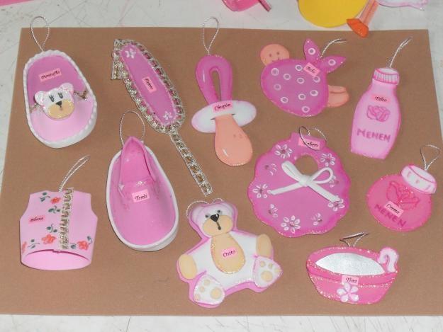 distintivos ideas para baby shower pinterest