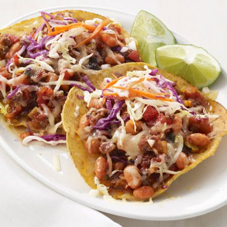 Chipotle Beef Tostadas | Mucho Mexican | Pinterest