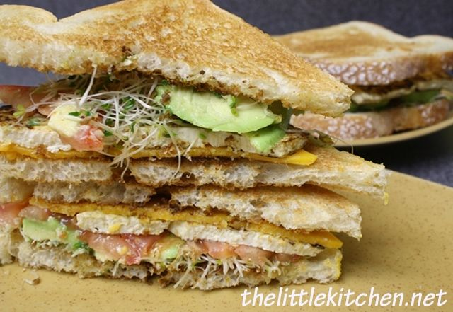 ... for that matter cheese tomato amp tofu sandwich with avocados