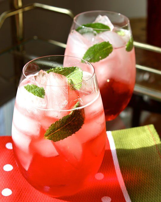 Campari Mint Spritz | Recipe