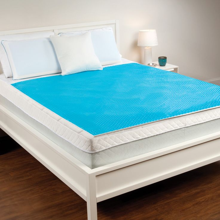 237 Sleep Essentials Hydraluxe Cooling Gel Mattress Pad