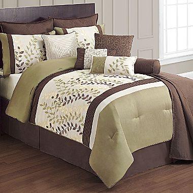 Eden 12 Piece Comforter Set Jcpenney Home Decor Pinterest