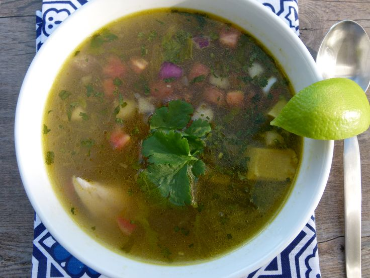 Chicken and Avocado Soup | soup/stew/chilli | Pinterest
