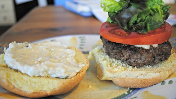 Chunky Blue Cheese Burger Sauce Recipe — Dishmaps