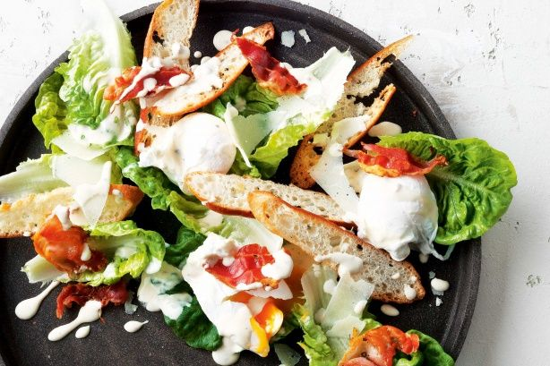Caesar with skinny yoghurt dressing | Healthy & delicious | Pinterest