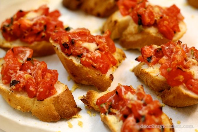 ... bruschetta from reluctant entertainer roasted tomato soup tomato
