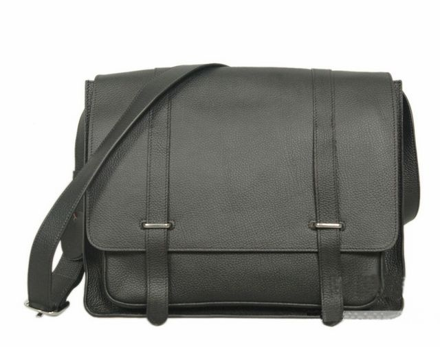 Hermes Men Cowhide Shoulder BagHermes Bag Men
