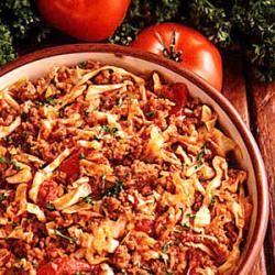 Cabbage Jambalaya | Recipe