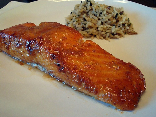 brown sugar mustard glazed salmon | Favorite Recipes ...