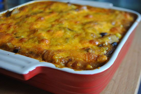 Lazy Girl Recipe: Mexican Casserole | GirlsGuideTo
