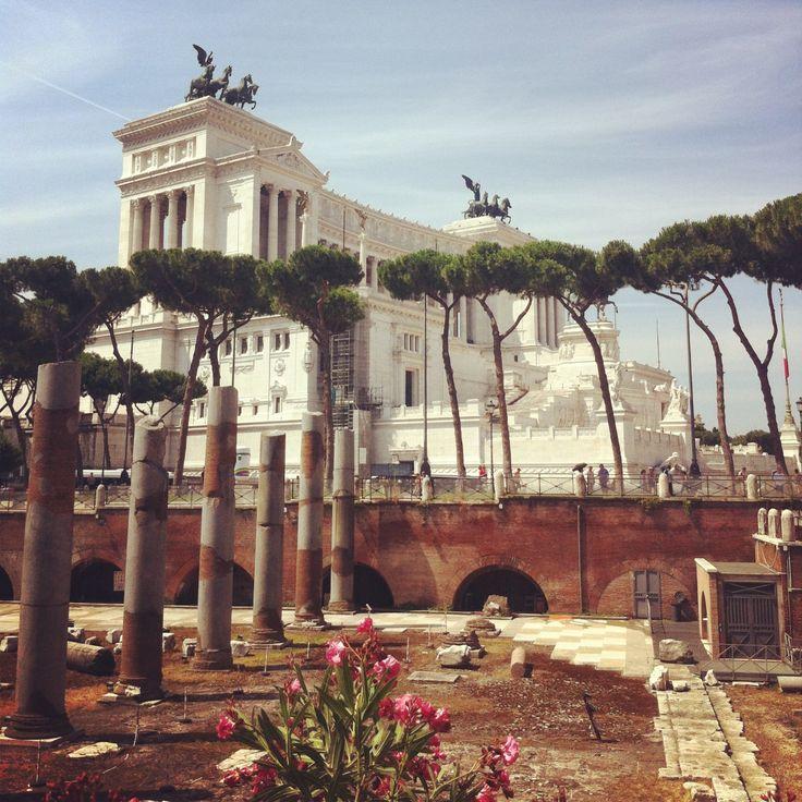 Piazza Venezia, Roma, Italy