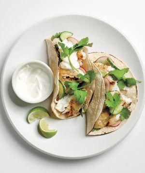 Tilapia Tacos With Cucumber Relish