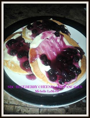 Blueberry Cheesecake Pancakes | Food & Drink that I love | Pinterest