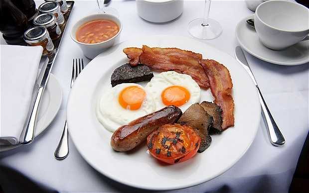 "The Full English breakfast or ""fry-up"" - not the healthiest meal bu..."