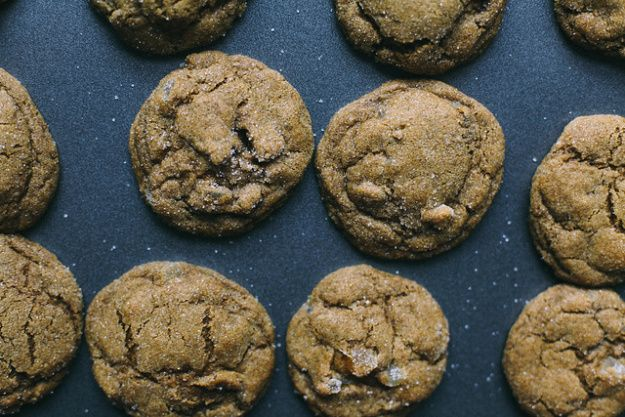 Chewy Double Ginger Cookies | The Baking Bird
