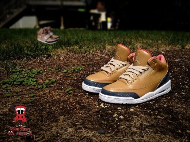 """Air Jordan 3 """"Threezy"""" Custom"""