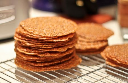 Hazelnut-Espresso Cookies Recipe — Dishmaps
