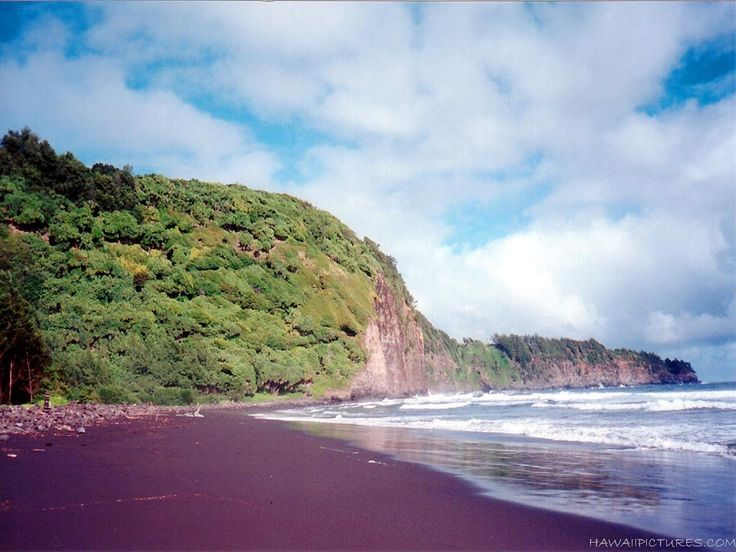 Purple sand beach madagascar exteriors pinterest Black sand beach hawaii