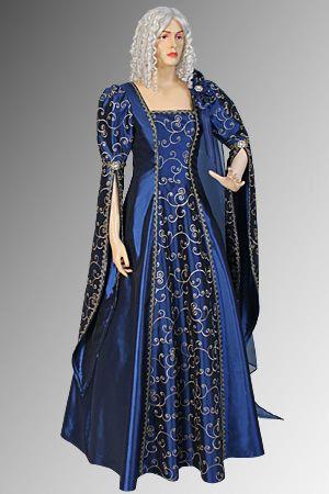 Style wedding dresses renaissance medieval gothic wedding dress