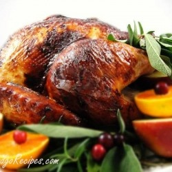 Did this recipe this year for Turkey Day. Brined Herb Roasted Turkey