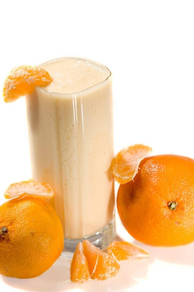 Orange shake | Shakes. Slush. Smoothies. | Pinterest