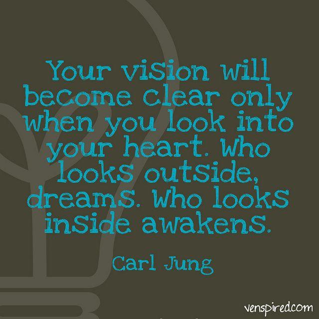 jung inspirational quotes vision quotesgram