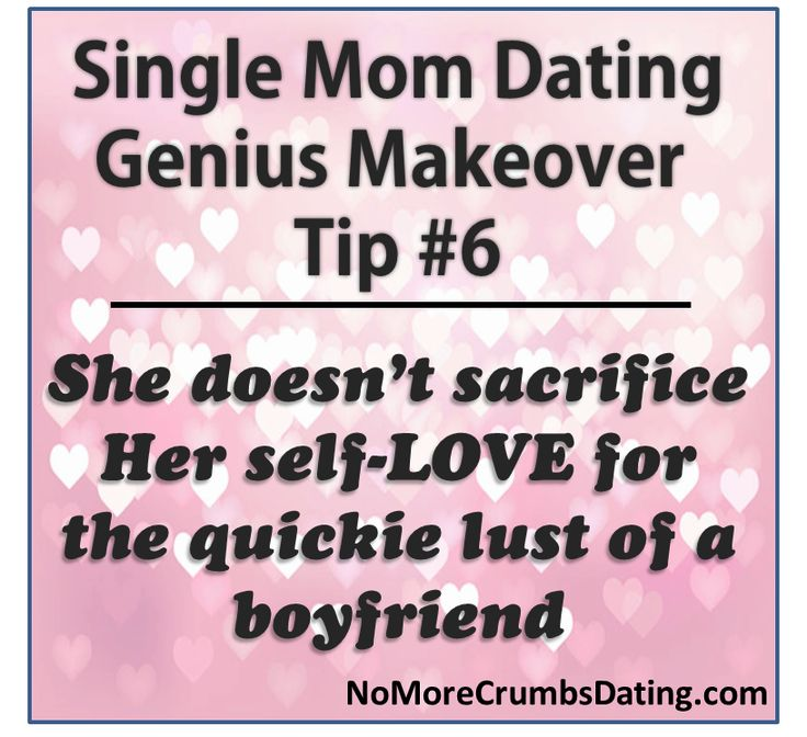 Tips when dating a single mom
