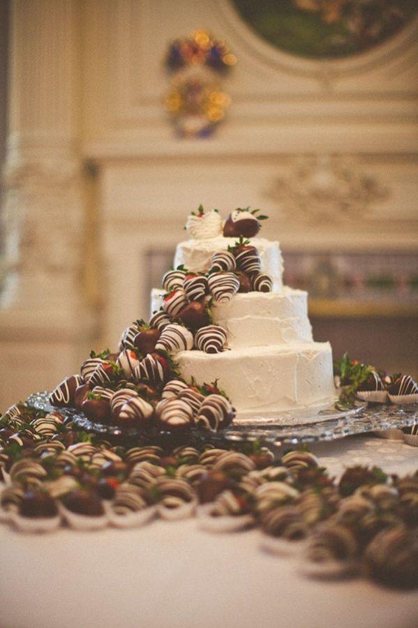 chocolate covered strawberry cake | celebration cakes | Pinterest