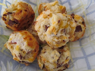 Bacon Onion Cheddar Biscuits. That's right. You heard me.