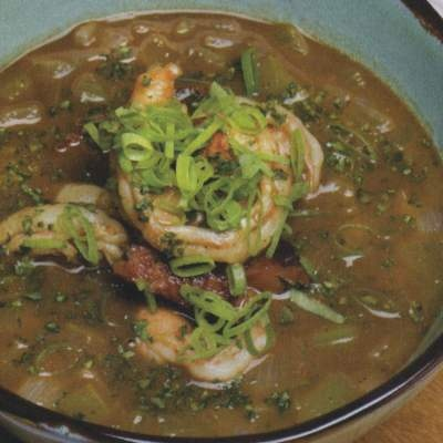 Traditional Shrimp And Okra Gumbo