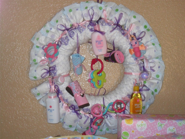 baby shower diapers
