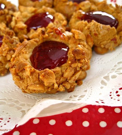 Peanut Butter and Jelly Cookies | Cake & Cookies. | Pinterest