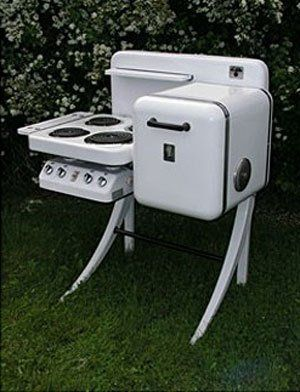electrochef stove vintage kitchen appliance