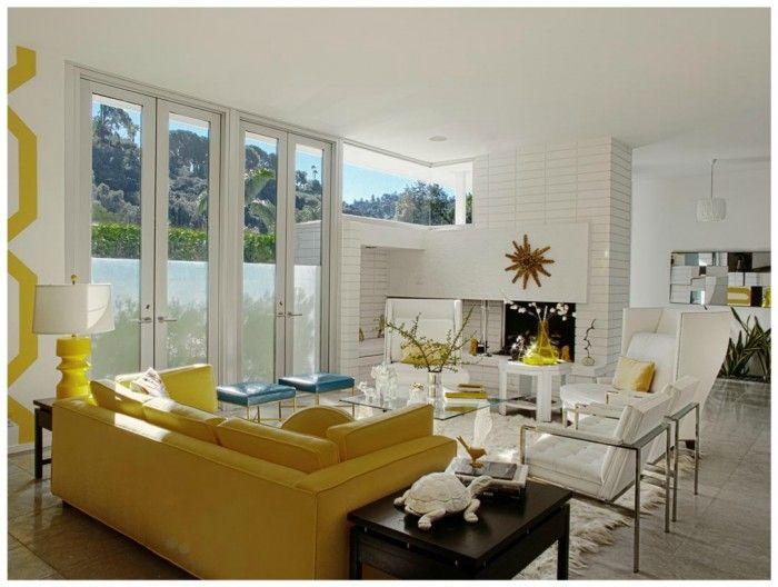 hollywood regency modern living room