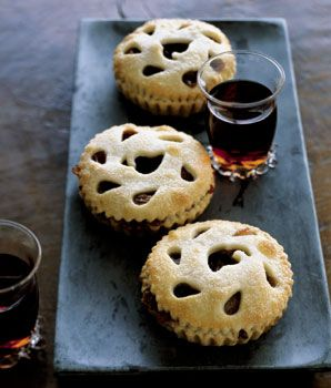 Brandied Sour Cherry and Pear Tartlets | Recipe