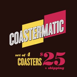 Coastermatic. Your instagrams in stone, coasters. Set of 4 coasters $25 + shipping