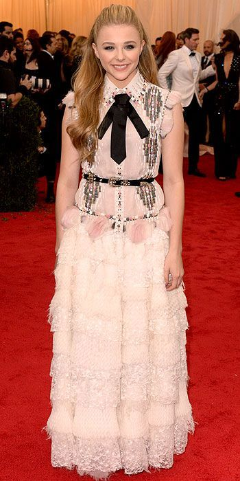 Chloe Grace Moretz in Chanel Couture Met Gala 2014