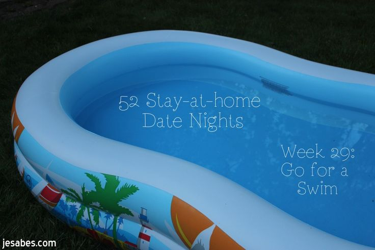 stay at home date night go for a swim don 39 t forget the bug spray