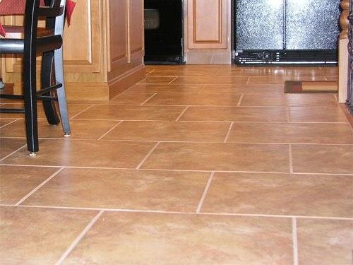 Kitchen Floor Tile Kitchen Pinterest