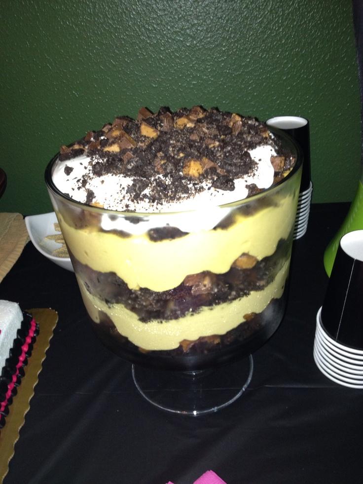 Mint Brownie - Hot Fudge Oreo Trifle Recipes — Dishmaps