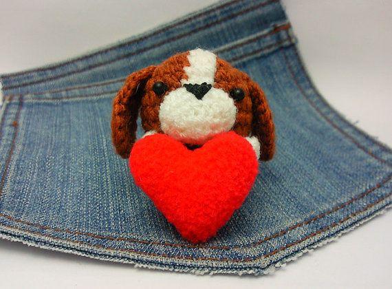 Amigurumi Hound Dog : Amigurumi Basset Hound, crochet dog, Basset Hound Puppy ...