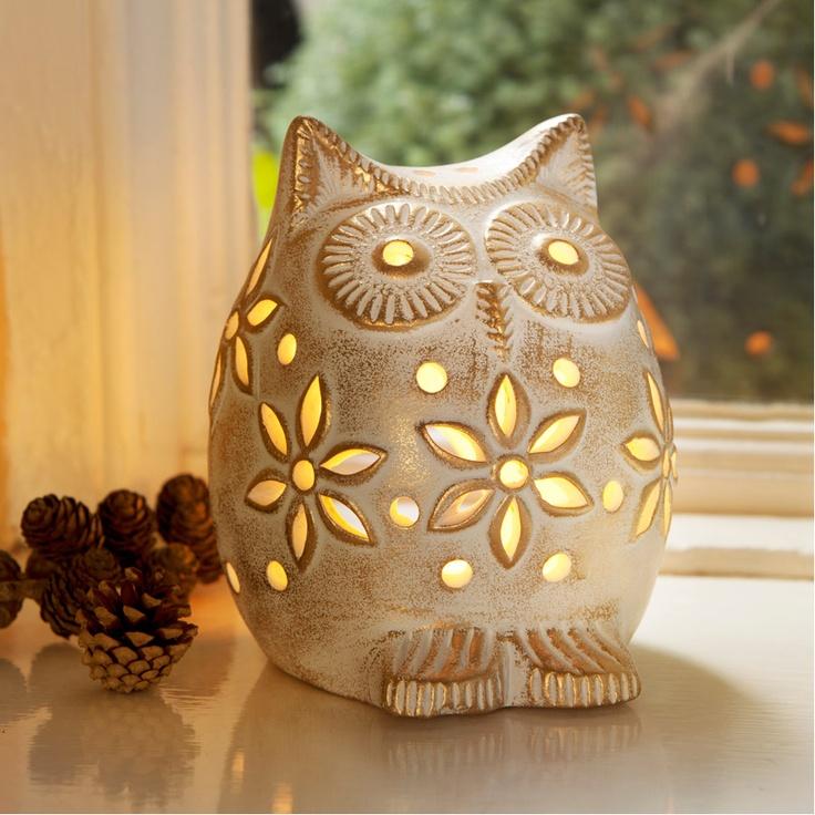 Owl Lantern - Traidcraft
