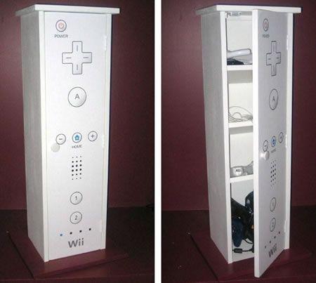 Nintendo Wii Cabinet