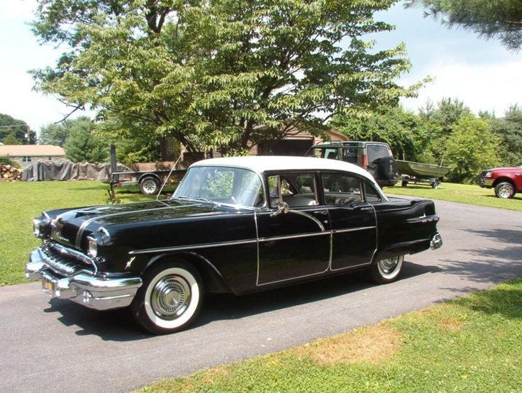 1956 pontiac chieftain four door sedan pontiac chieftan for 1956 pontiac 4 door hardtop