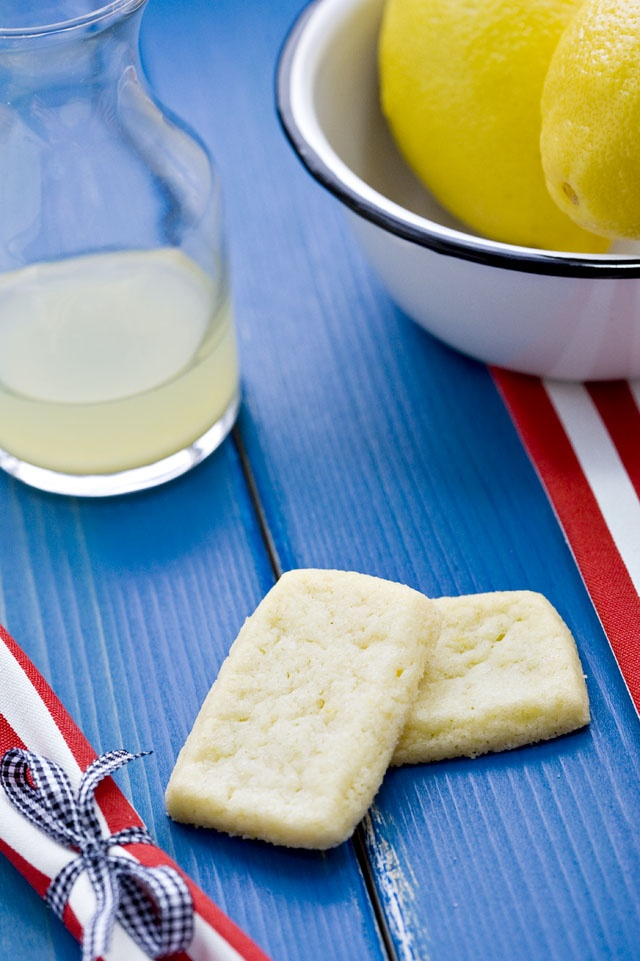 Lemon Shortbread Cookies | Lemon | Pinterest
